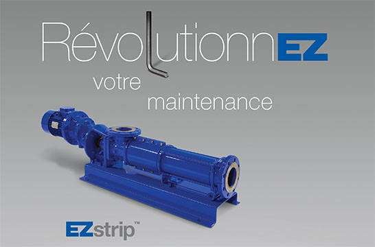 EZstrip transfer pump